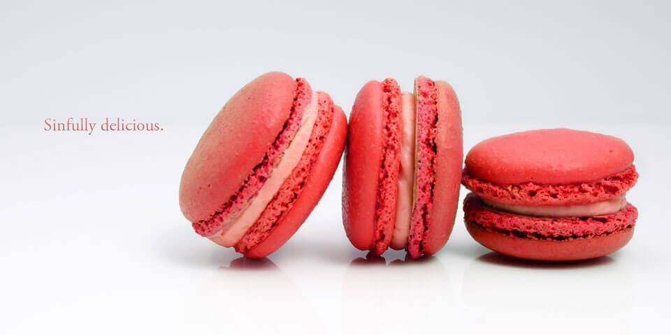 Sinfully delicious macarons slide