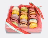 Holiday Gift Box of Macarons
