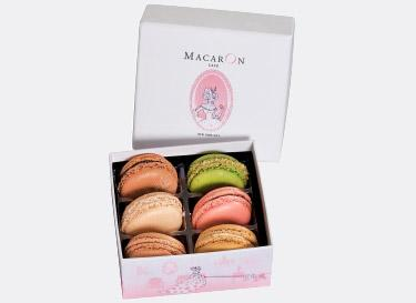 Small Luxury Gift Box with 6 Macarons