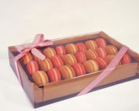 Large Champagne Macaron Celebration Gift Box
