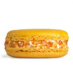 Creme Brulee Macaron