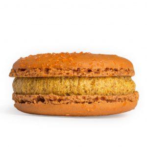 Pumpkin-Cinnamon Macaron