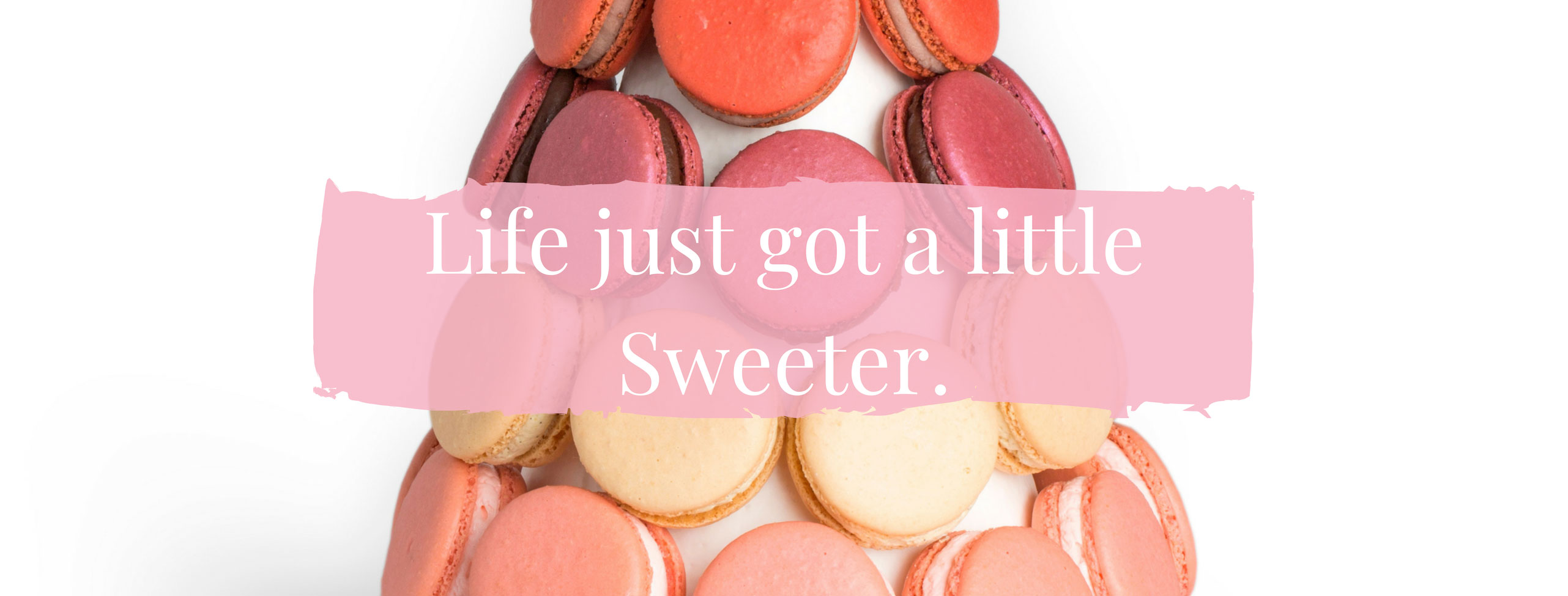 Life juste got a little sweeter